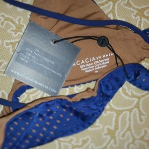 acacia swimwear Swim - New acacia na pali bikini ocean mesh top M napali